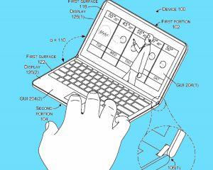 Un nouveau brevet de l'appareil Surface pliable a été découvert