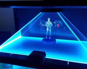 Cortana prend vie à travers un hologramme, et ça en jette !
