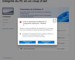 Installer Windows 11 sur un « vieux » PC sera finalement possible… MAIS !