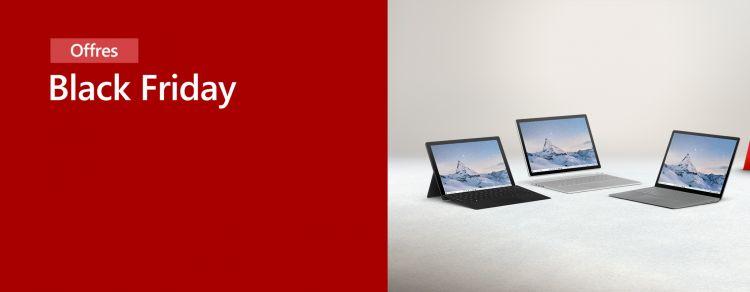 Black Friday week : réductions sur les Surface Pro 7 et Laptop 3