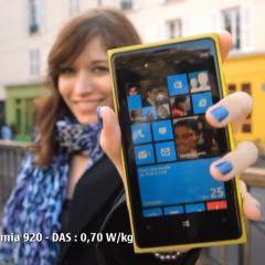 Les premières publicités françaises pour les Nokia Lumia 920 & 820