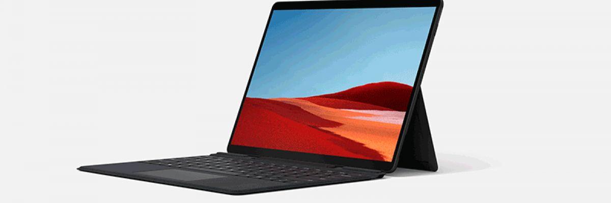 La Surface Pro X est disponible en précommande sur le Microsoft Store FR