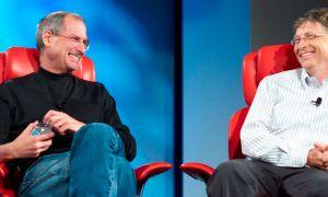 """Bill Gates dresse le portrait de Steve Jobs : un magicien, parfois un """"abruti"""""""