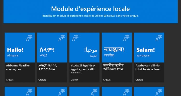 Tutoriel : comment changer la langue d'affichage de Windows 10 ?
