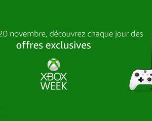 Amazon propose plusieurs bons plans via sa Xbox Week jusqu'au 20 novembre