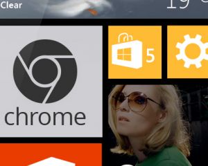 Un concept de Chrome sur Windows Phone 8