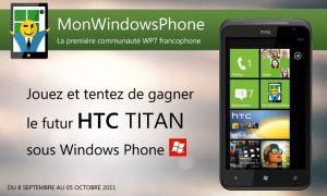 Le vainqueur du concours qui remporte le HTC Titan est...