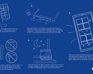 Sauver un smartphone qui a pris l'eau en 5 étapes
