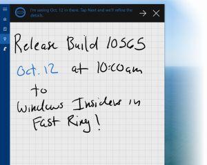 Windows 10 PC build 10565 aussi disponible en slow ring