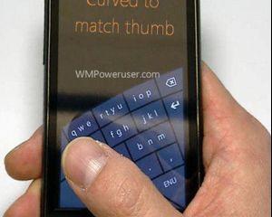 Rumeur : un clavier incurvé sur Windows Phone 8 ?