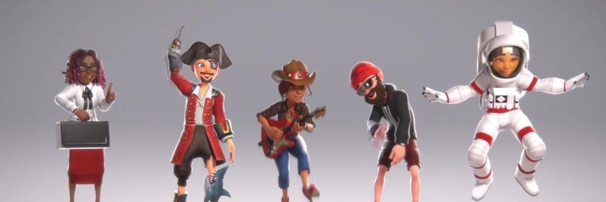 Les nouveaux avatars Xbox One arrivent enfin pour les Insiders