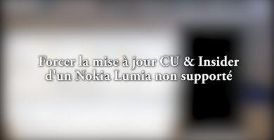 Comment mettre à jour votre Lumia délaissé vers Windows 10 Creator Update ?
