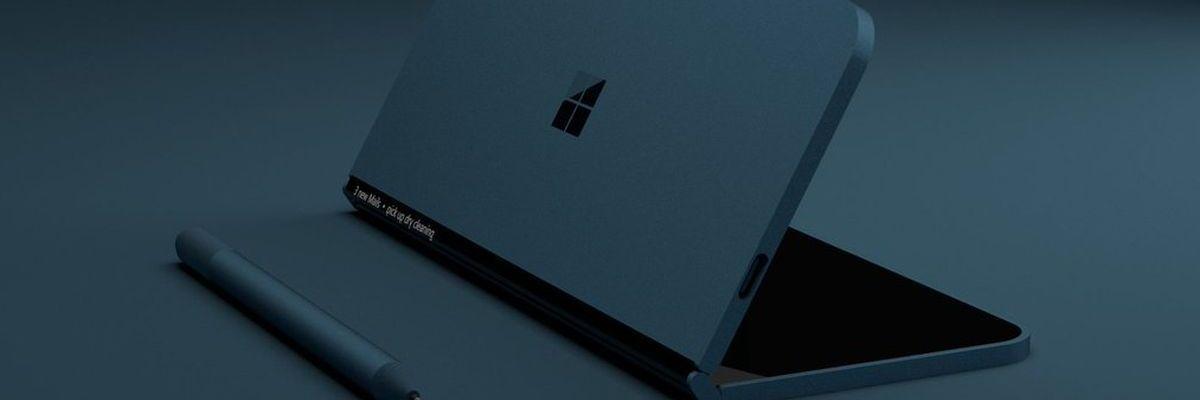 """Le """"Surface Fold"""" de Microsoft aurait deux écrans de 9 pouces"""