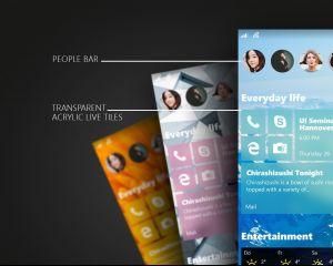 Nouveau concept d'interface pour Windows 10 et Mobile
