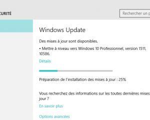 """Windows 10 """"1511"""" : Microsoft suspend son téléchargement via l'outil de création"""