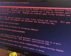 Après Wannacry, voici Petya, un autre ransomware ravageur