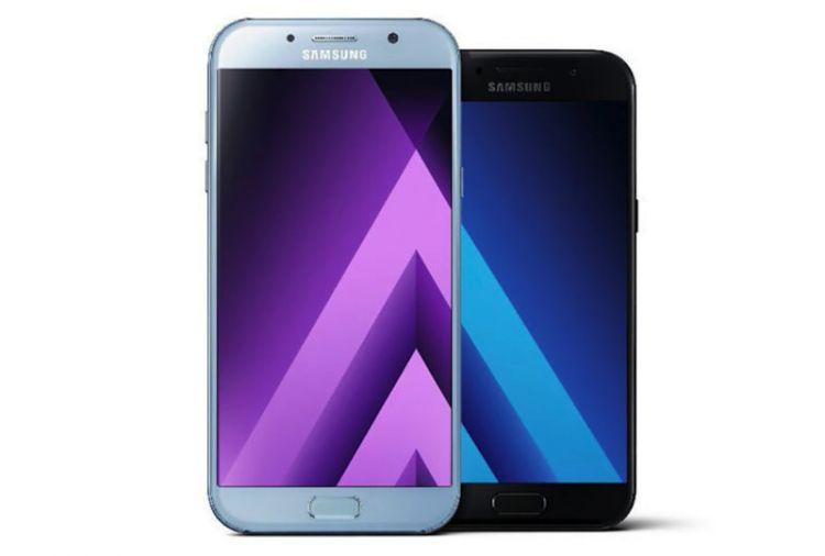 [MAJ] Les Samsung Galaxy A3, A5 et A7 de 2017 viennent d'être officialisés