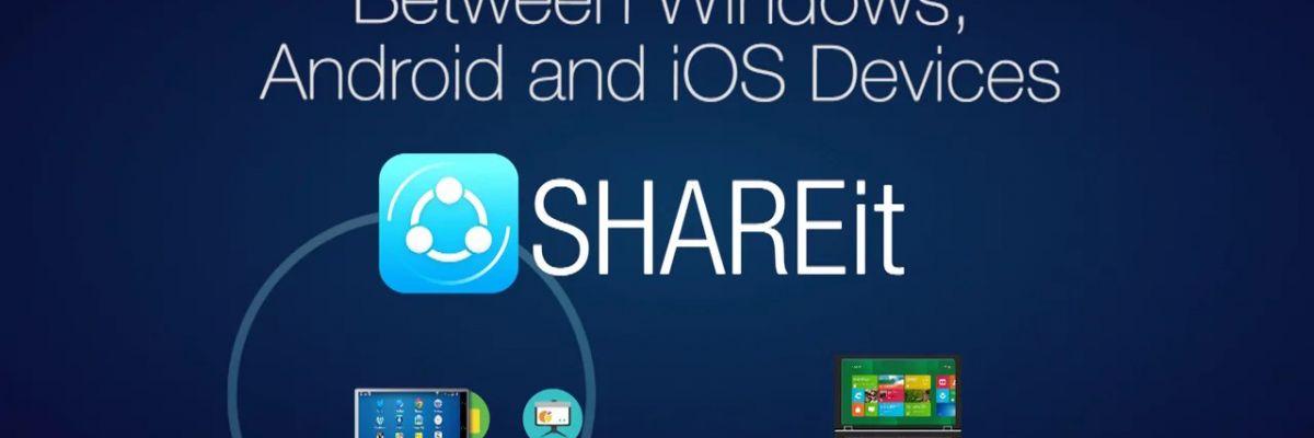 L'application officielle de SHAREit débarque sur Windows Phone