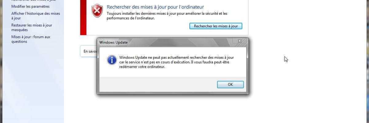 Êtes-vous impacté par l'impossibilité de mettre à jour de Windows 7 ?
