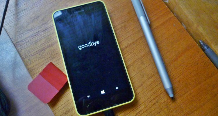 Windows Phone 8.1 ne représenterait plus que 0,1% des ventes en 2017