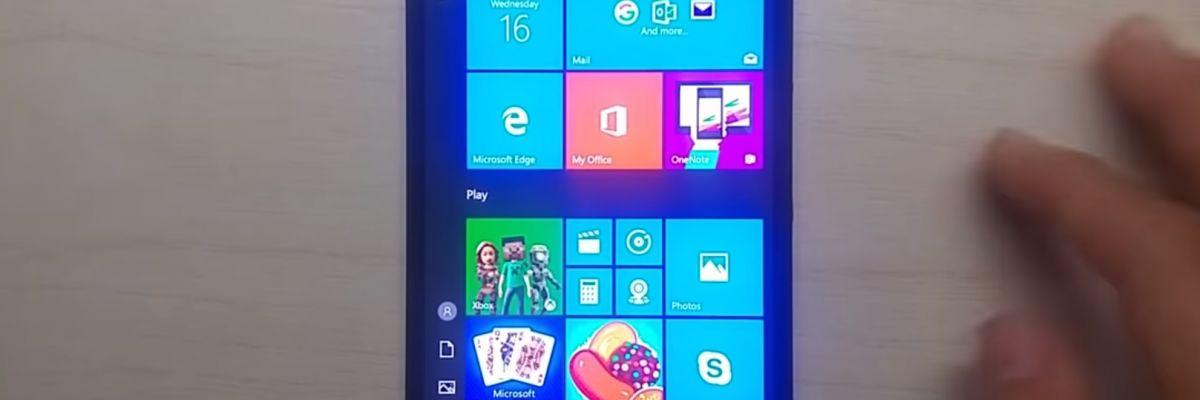 Windows 10 ARM sur le Lumia 950 XL tourne comme une horloge !