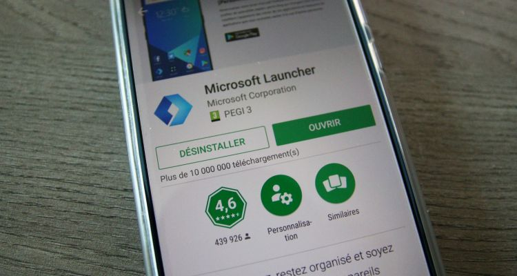 Microsoft Launcher est disponible pour Android en version 5.1