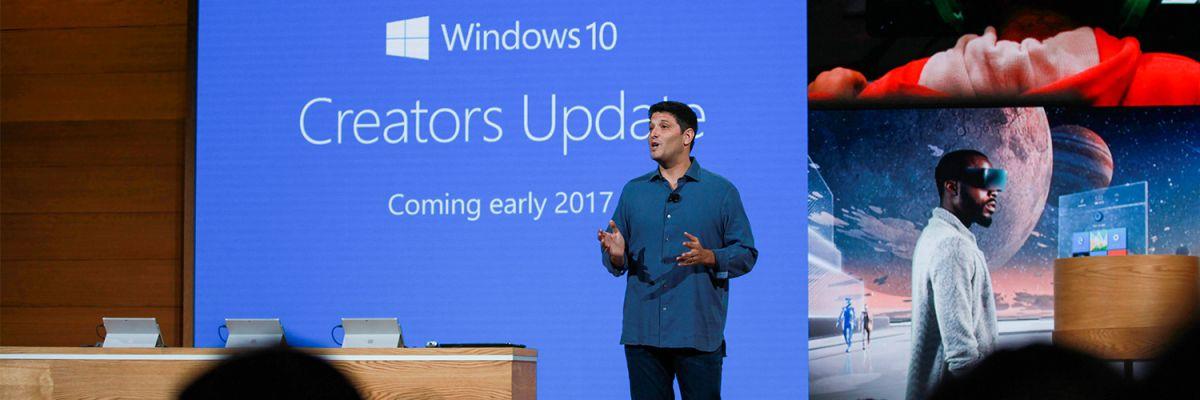 Creators Update : Windows 10 suggèrerait des applis via l'écran de partage