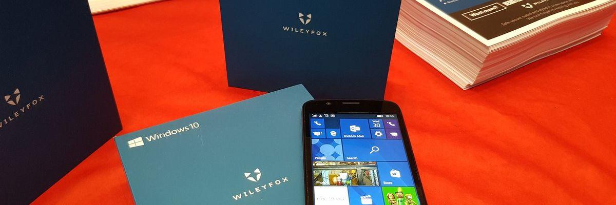 """[MAJ] Le WileyFox Pro : un """"nouveau"""" smartphone sous Windows 10 Mobile à 249€"""