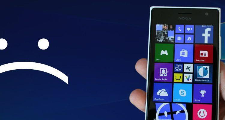 Les anciens téléphones ne pourront plus recevoir Windows 10 Mobile CU