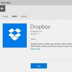 Windows 10 : l'intégration des screenshots WP sur le Windows Store
