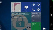 CShell : la clé pour unifier Windows 10 et Windows 10 Mobile se montre en vidéo