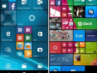 Microsoft Lumia 950 : comment placer quatre colonnes sur l'écran d'accueil ?