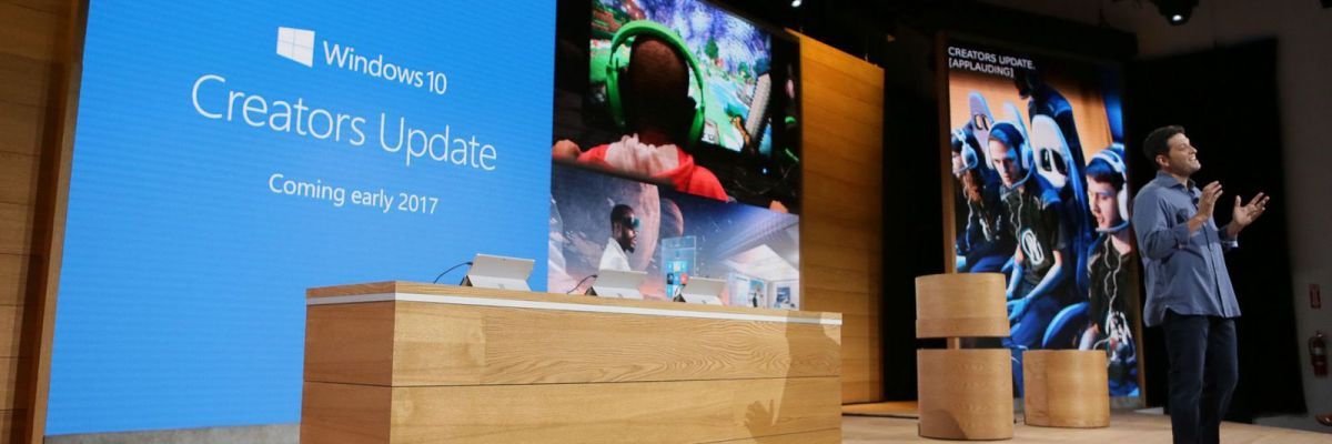 "Windows 10 : la Creators Update plutôt ""version 1704"" et donc en avril ?"
