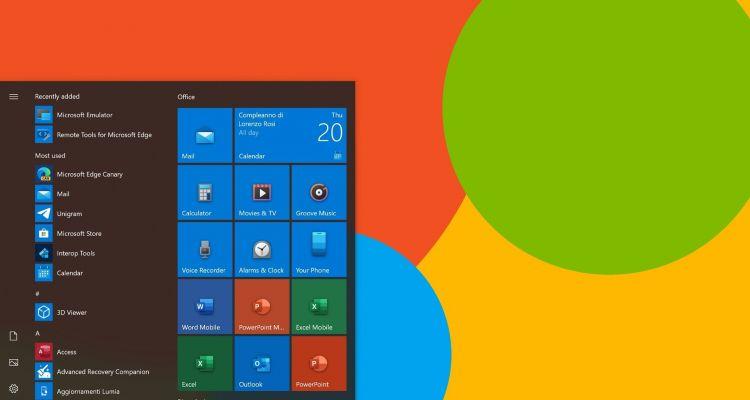 Les icônes modernes de Windows 10X arrivent également sur Windows 10
