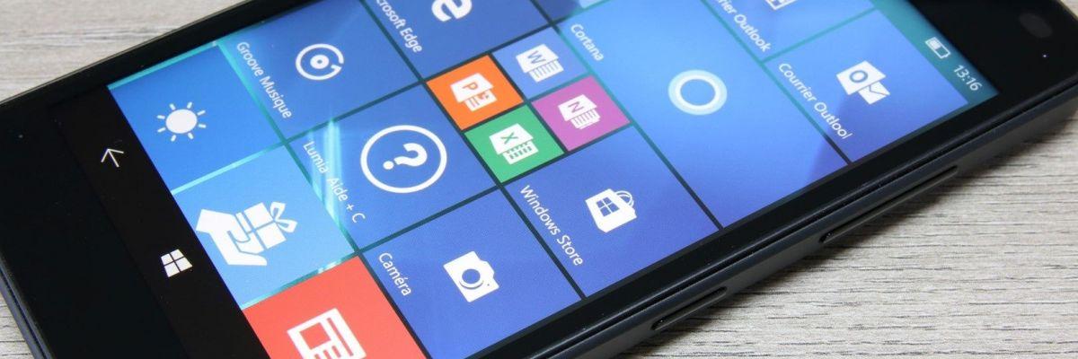 Mise à jour Windows 10 Mobile : la build 15254.590 est disponible