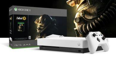 Deux nouveaux coloris pour la Xbox One X avec Battlefield V et Fallout 76