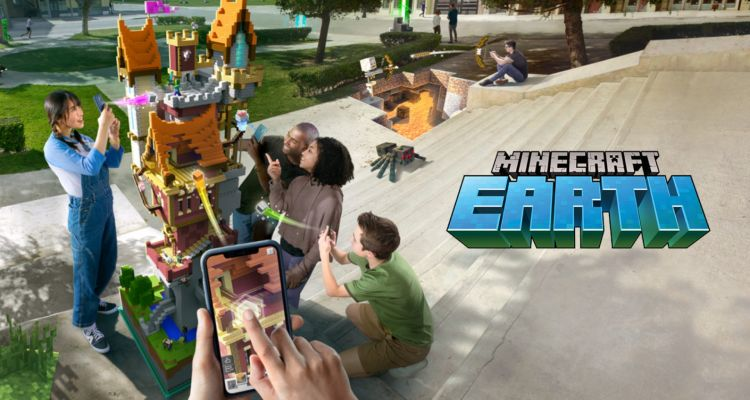 Minecraft Earth : le premier jeu de Microsoft en réalité augmentée arrive !