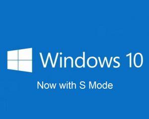 Windows 10 S sera bien remplacé par le S Mode, disponible bientôt sur Windows 10
