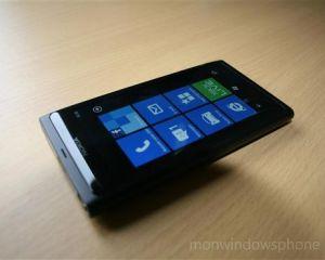 Nouvelle mise à jour firmware pour le Lumia 800