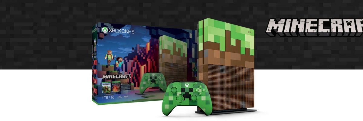 La xbox one x et la xbox one s minecraft edition en pr commande d s aujourd 39 hui monwindows - La xbox one lit elle les jeux xbox 360 ...