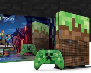 La Xbox One X et la Xbox One S Minecraft Edition en précommande dès aujourd'hui