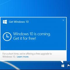 Windows 10 : Microsoft serait plus insistant sur l'incitation à la mise à jour