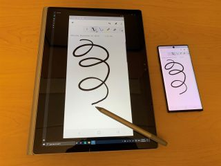 L'application Votre Téléphone, désormais compatible avec les stylets Surface