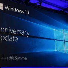 Windows 10 mise à jour anniversaire : un déploiement prévu sur trois mois