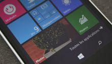 Nouvelle mise à jour Insider pour Windows 10 Mobile