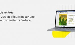 Grosses promotions sur plusieurs PC Surface (et le Surface Duo !) en ce moment !