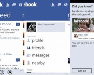 Seconde mise à jour de l'application officielle Facebook (version 2.4)