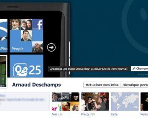 Mettez votre profil Facebook aux couleurs de Windows Phone !