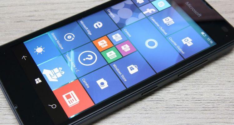 Windows 10 Mobile : une mise à jour est dispo pour la fin de son support