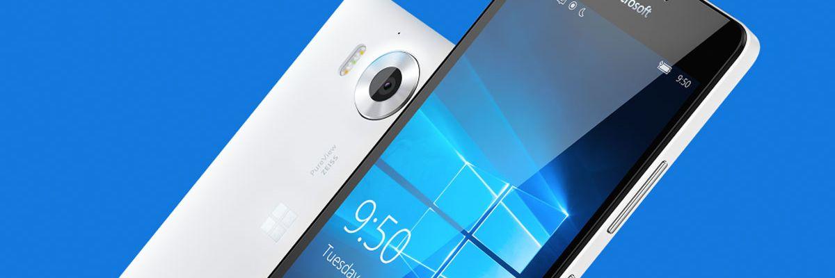 Le Microsoft Lumia 950 en précommande chez Orange à partir de 1€